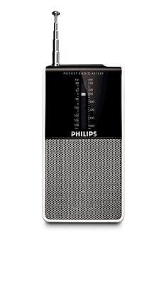 Εικόνα της Φορητό ραδιόφωνο τσέπης PHILIPS AE1530