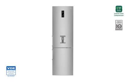 Εικόνα της LG Ψυγειοκαταψύκτης NoFrost Inox A++ GBB60PZFZS