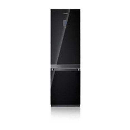 Εικόνα της Ψυγειοκαταψύκτης Samsung RL55VTEBG1 BLACK GLASS 348lt A+