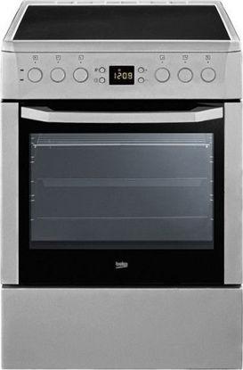 Εικόνα της Κεραμική κουζίνα Beko CSM 67302 GX INOX
