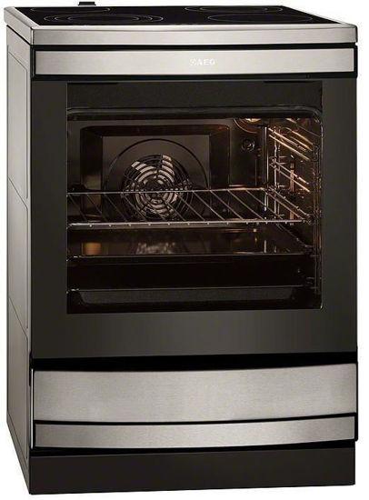 Εικόνα της Κεραμική Κουζίνα AEG 43336VY-MN Inox 74lt