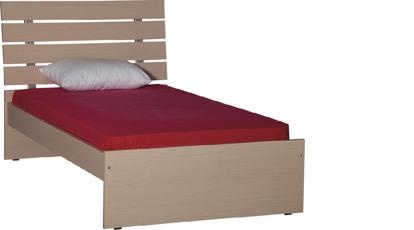 Εικόνα της Κρεβάτι ημίδιπλο ALINE economy line 109X200x120 για στρώμα 190X110