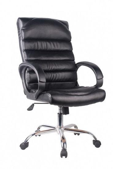 Εικόνα της Καρέκλα Διευθυντική LUX ΜΑΥΡΗ PU