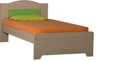 Εικόνα της Κρεβάτι ημίδιπλο 93X197x120 για στρώμα 190X110 ΕΛΛΗΝΙΚΗΣ ΚΑΤΑΣΚΕΥΗΣ