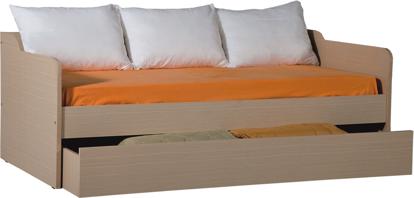 Εικόνα της Καναπές κρεβάτι 73x197x100 με συρτάρι καναπέ 25x190x84 ΕΛΛΗΝΙΚΗΣ ΚΑΤΑΣΚΕΥΗΣ